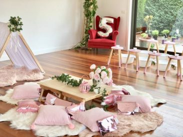 Pamper events kids parties mornington