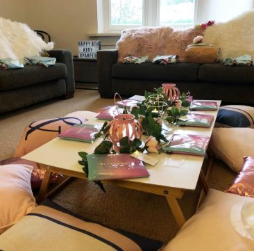 Abbys pamper party