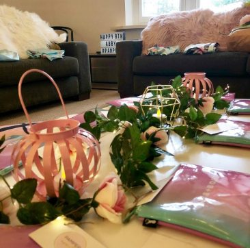 Abbys pamper party16