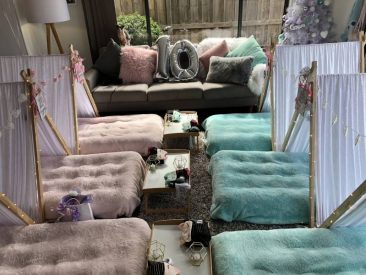 Anastasia's pamper party-melbourne