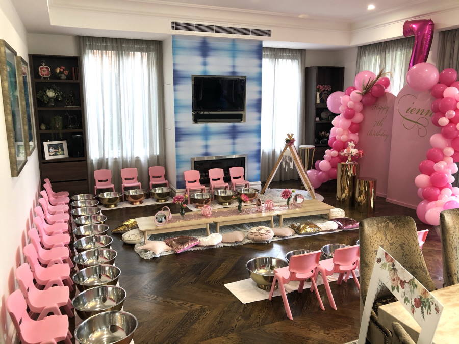 Kids Pamper party gallery