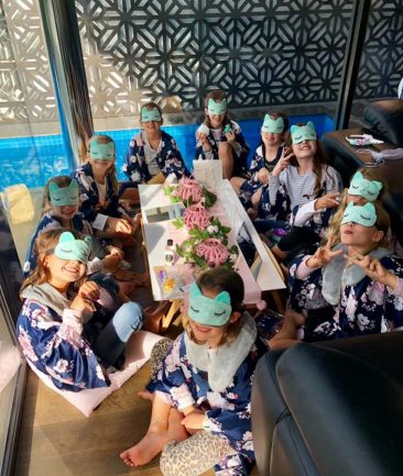Maddis 9th birthday pamper party