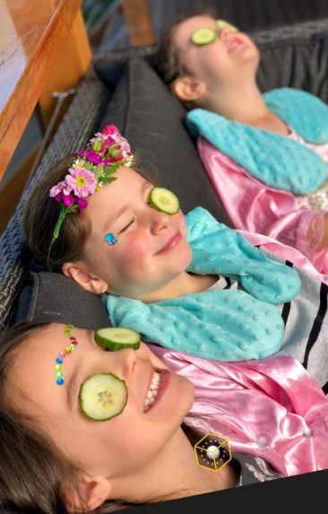 Maddis pamper party