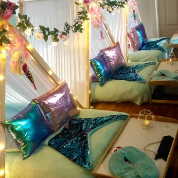 Teepee Parties setup designs