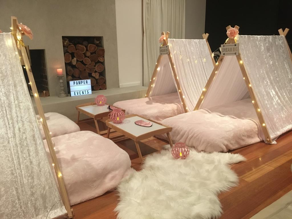 Kids Teepee Slumber Parties Mornington and surrounding suburbs,