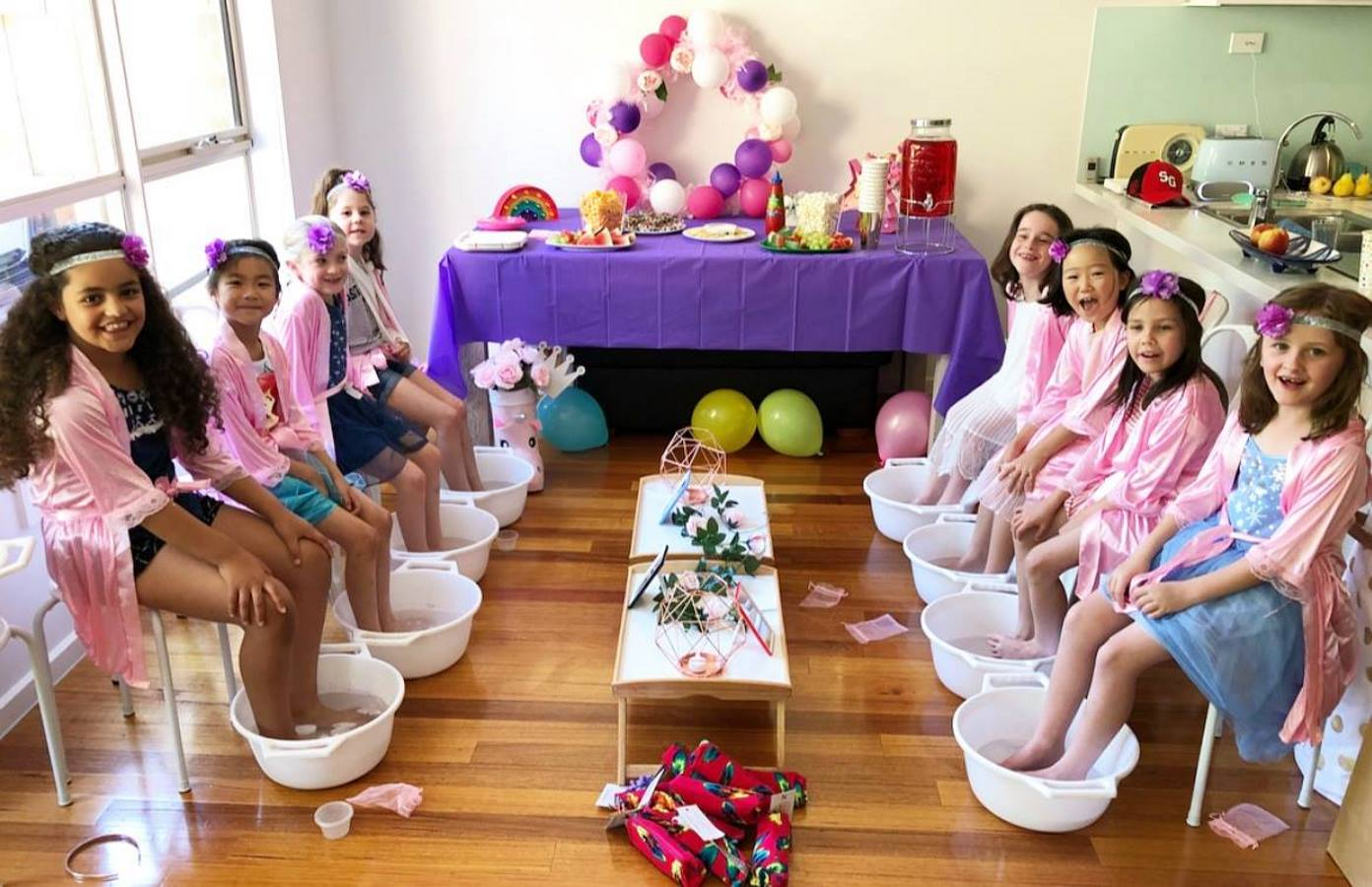 elyses pamper party