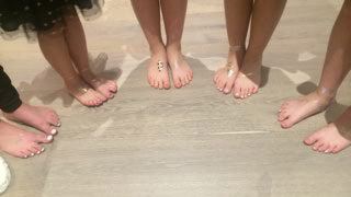 feet spa party for kids in mornington