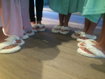 foot spa party for kids in mornington