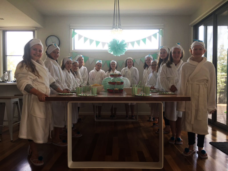 pamper party mt eliza