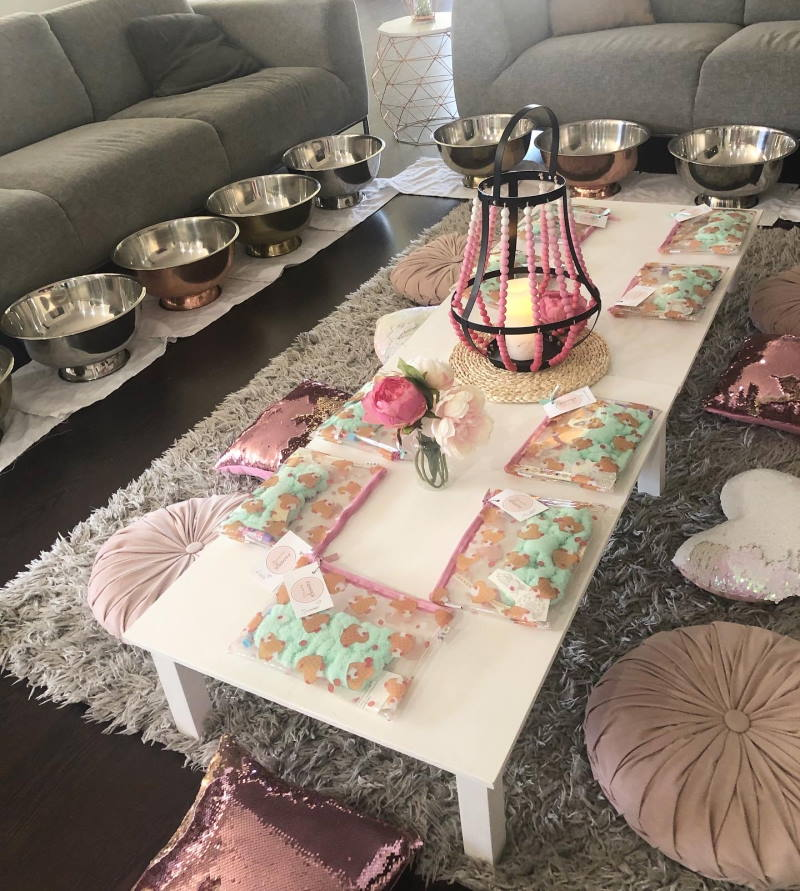 pamper events party