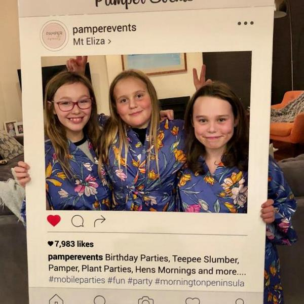 sophia's pamper party
